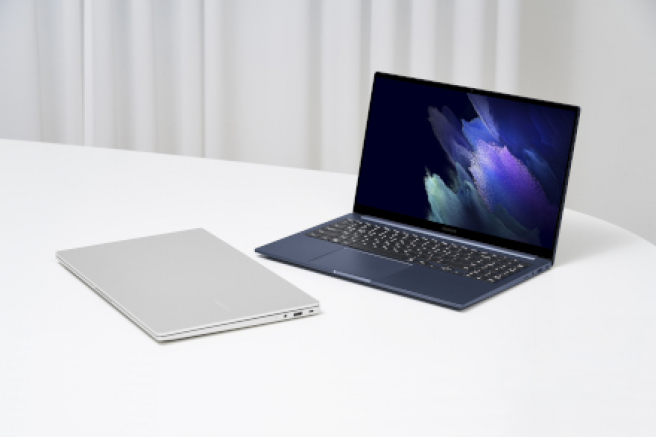 This is what the new Galaxy Book looks like