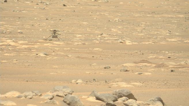 A pesar de la decisión, la intención de Ingenuity de seguir volando sobre Marte sigue siendo válida.