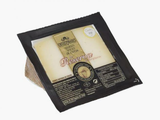 Queso añejo de oveja de Entrepinares, en venta en Mercadona.