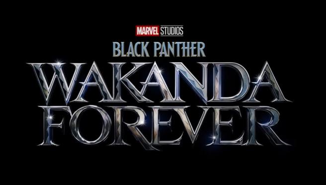 Pantera Negra: Logotipo de Wakanda Forever