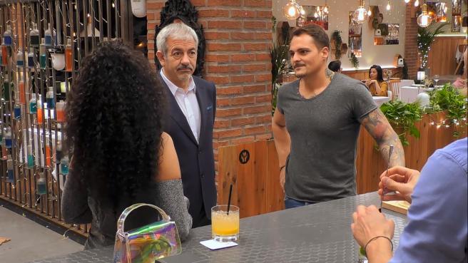 """Lissy, Sobera y José, en """"Primeras citas""""."""