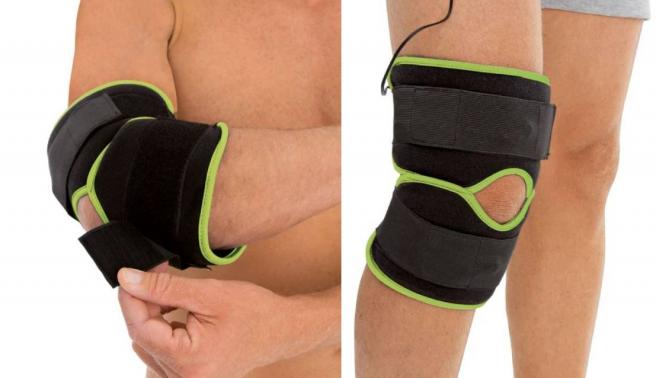 Electroestimulador de rodilla y codo, a la venta en Lidl.