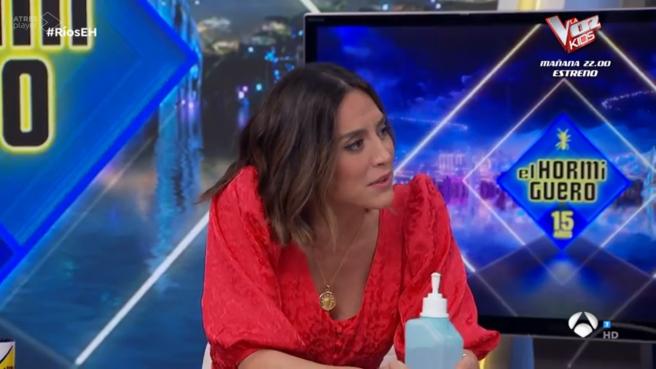 """Tamara Falcó, en """"El hormiguero""""."""
