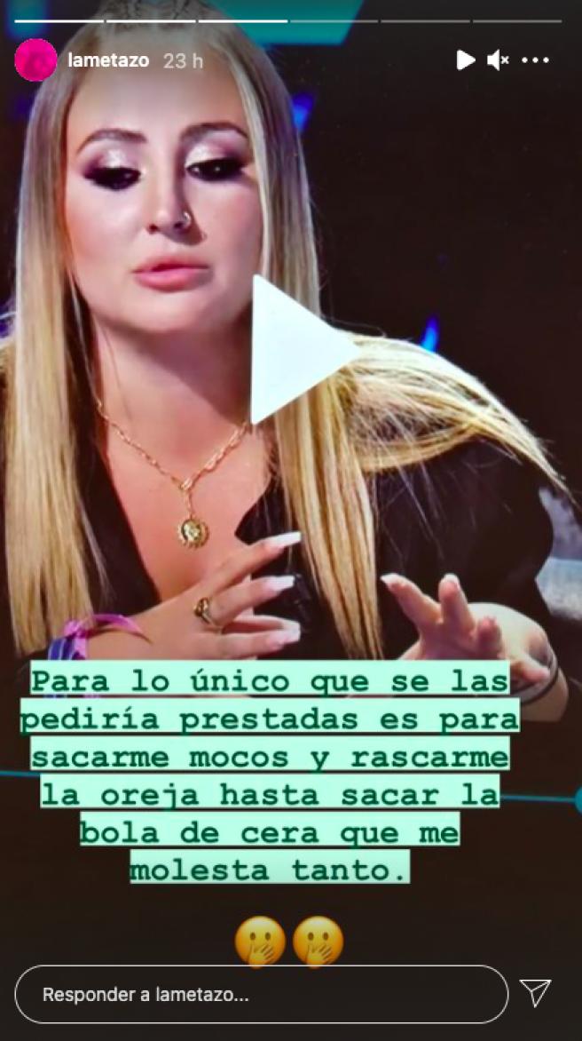 Reseñas de Mercedes Milá sobre las uñas de Rocío Flores.