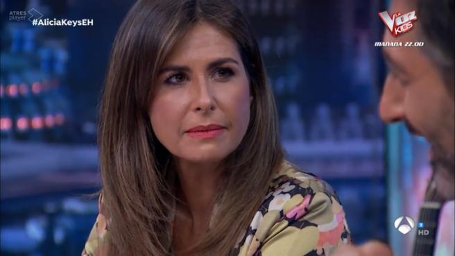 Nuria Roca, en 'El hormiguero'.
