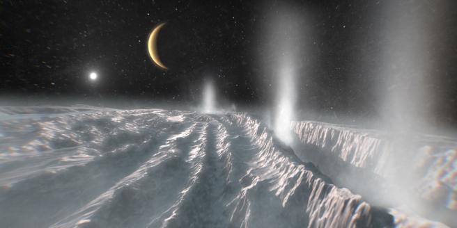 Lunas de los planetas gigantes.