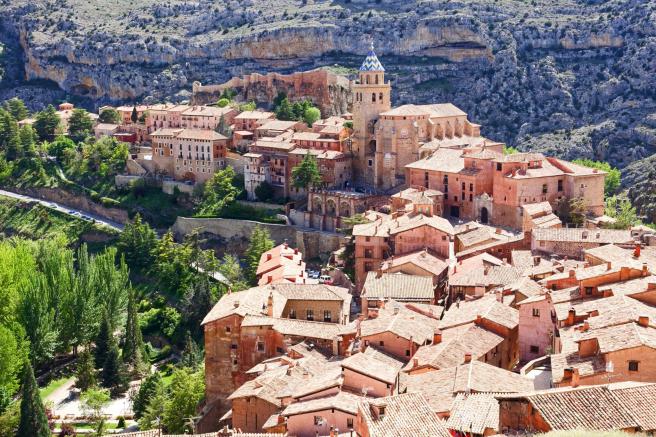 Albarracín, en Teruel