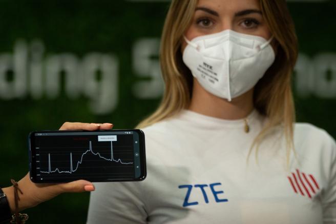 YouCare, de ZTE, es una camiseta que permite analizar parámetros biovitales con sensores colocados en la tela.