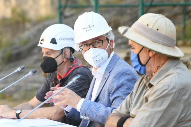 Presentación de la campaña de excavaciones en la Sierra de Atapuerca