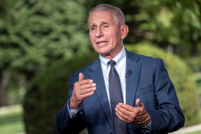El principal epidemiólogo de EE UU, Anthony Fauci, durante una entrevista en la Casa Blanca en Washington DC.