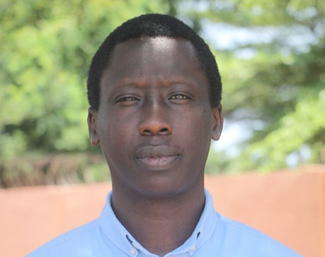 Landry Ninteretse, director de 350Africa.Org