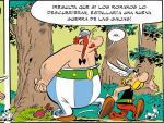 Imagen promocional del cómico 'Astérix y la hija de Vercingétorix'