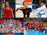 Carolina Marín, Lydia Valentín, Sandra Sánchez y las selecciones de balonmano y baloncesto