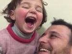 Abdullah y su hija.