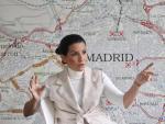 La candidata de Vox a la Presidencia de la Comunidad de Madrid, Rocío Monasterio, en un momento de la entrevista con 20minutos.