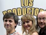 Santiago Segura, José Mota y Dulcinea Juárez estrenarán en septiembre el musical Los Productores, de Mel Brooks. (Emilio Naranjo / Efe)