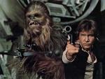 Fotograma de 'La guerra de las galaxias', de George Lucas.