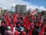 Concentración Del 1 De Mayo En Málaga