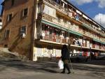 Edificios en la Colonia de los Olivos, un barrio degradado en el distrito madrileño de Latina.