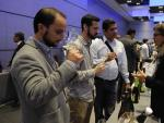 Degustación de cavas en el Salón del Cava Premium celebrado en Málaga.