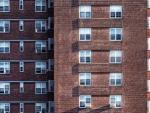 Un bloque de viviendas en Madrid.