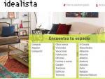 Imagen de acceso a la web del portal inmobiliario Idealista.