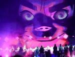 La actuación de Gorillaz, con Damon Albarn al frente, fue una de las más esperadas durante la última jornada del festival Bilbao BBK Live.