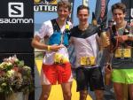 Los ganadores de la prueba Otter Trail, en Sudáfrica.
