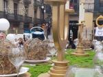 El pesebre de la plaza Sant Jaume.