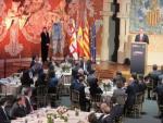 El Rey Felipe VI en la cena inaugural del Mobile World Congress del 2018.