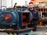 Jesús Carrasco trabaja en Aerzen Ibérica - filial de la alemana Aerzener Maschinenfabrik-, la empresa a la que accedió gracias a una FP Dual.