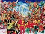 Alex Ross reúne a todos los Capitán Marvel y sus derivados