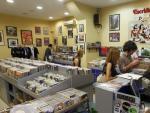 Interior de Escridiscos, una de las tiendas madrileñas que participan en la iniciativa.
