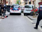 Momento en el que los mossos se llevan detenido a un hombre relacionado con la desaparición de Janet Jumillas, de 39 años.