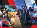 Algunos de los animes disponibles en Netflix.