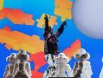 El colombiano J Balvin protagonizó el concierto más colorista del Primavera Sound.