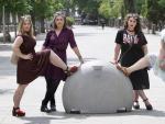Marina, Carmen, Ana y Vivian, cuatro mujeres afectadas por lipedema.