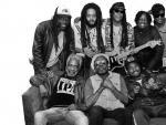 La banda de reggae que acompañó a Bob Marley, The Wailers, sigue extendiendo su semilla y su legado por el mundo.