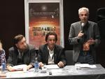 Nick Pope, durante la presentación del Congreso Mundial de Ufología en el Hotel Hesperia Tower de Barcelona.