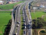 Una carretera en Cataluña, en una imagen de archivo.