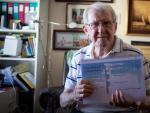 Santiago Oropesa, de 89 años, se presenta a los Premios +50 Emprende.