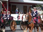 Desfile militar del Día de la Hispanidad, el 12 de octubre de 2017.