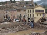 La DANA ha dejado numerosos daños en Montblanc (Tarragona).