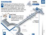 Paso a paso de la exhumación de Franco en el Valle de los Caídos