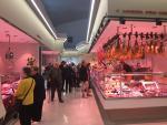 Interior del nuevo mercado de Bon Pastor