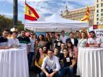 Un acto en Barcelona de la asociación S'ha Acabat!.