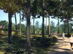 Una imagen piloto del futuro bosque de Madrid.