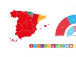 Reparto de escaños en España el 28-A