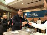 El vicepresidente de la Comunidad de Madrid, Ignacio Aguado, votando el 10N.