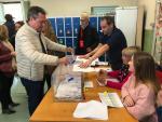 El alcalde de Sevilla, Juan Espadas, votando en las elecciones generales del pasado 10-N.